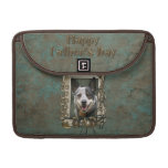 Fathers Day - Stone Paws - Cattle Dog Sleeve For MacBooks