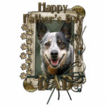 Fathers Day - Stone Paws - Cattle Dog Photo Cutouts