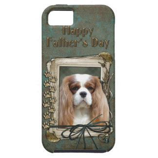 Fathers Day - Stone Paws - Cavalier - Blenheim iPhone SE/5/5s Case