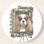 Fathers Day - Stone Paws - Cavalier Beverage Coasters