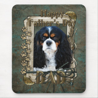 Fathers Day - Stone Paws - Cavalier - Dad Mouse Pad