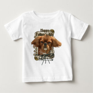 Fathers Day - Stone Paws - Cavalier King Charles Baby T-Shirt
