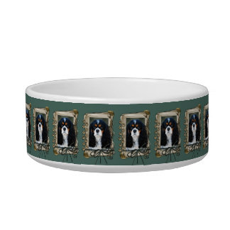 Fathers Day - Stone Paws - Cavalier King Charles S Bowl