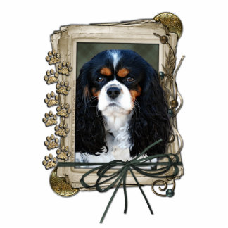 Fathers Day - Stone Paws - Cavalier Statuette