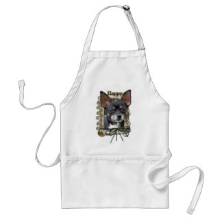 Fathers Day - Stone Paws - Chihuahua - Isabella Adult Apron