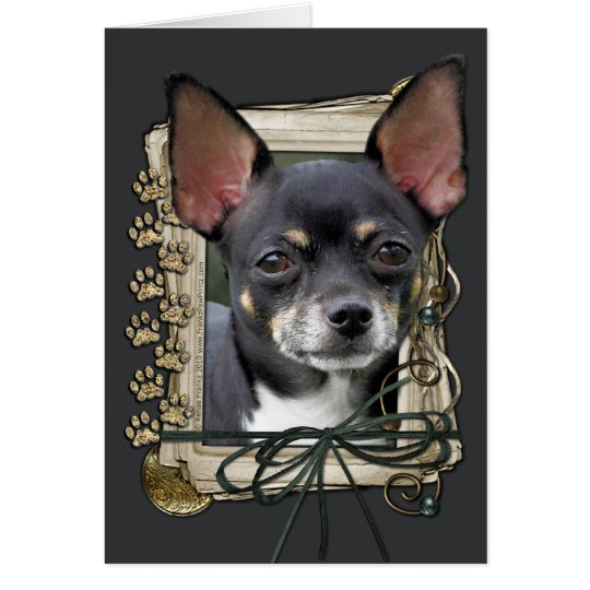 Fathers Day - Stone Paws - Chihuahua - Isabella Card