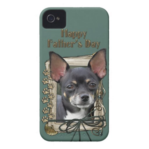 Fathers Day - Stone Paws - Chihuahua - Isabella iPhone 4 Covers