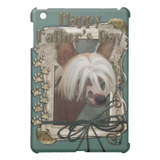 Fathers Day - Stone Paws - Chinese Crested - Jaspe Cover For The iPad Mini