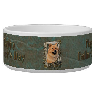 Fathers Day - Stone Paws - Chow Chow Bowl
