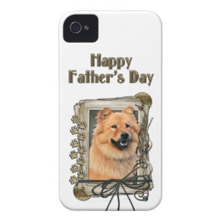 Fathers Day - Stone Paws - Chow Chow iPhone 4 Case