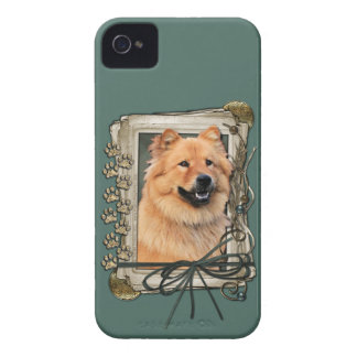 Fathers Day - Stone Paws - Chow Chow iPhone 4 Case-Mate Case