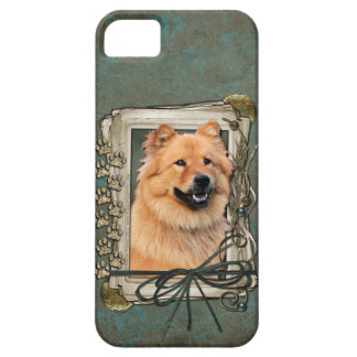 Fathers Day - Stone Paws - Chow Chow iPhone SE/5/5s Case