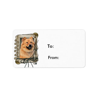 Fathers Day - Stone Paws - Chow Chow Label