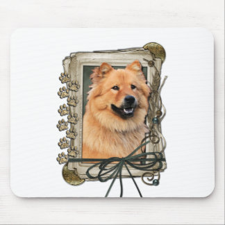 Fathers Day - Stone Paws - Chow Chow Mouse Pad