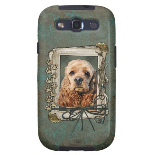 Fathers Day - Stone Paws - Cocker Spaniel Samsung Galaxy S3 Case