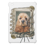 Fathers Day - Stone Paws - Cocker Spaniel Case For The iPad Mini