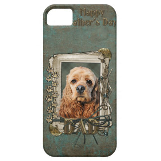 Fathers Day - Stone Paws - Cocker Spaniel iPhone SE/5/5s Case