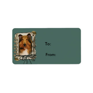Fathers Day - Stone Paws - Collie - Natalie Label
