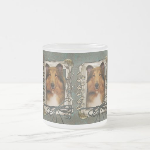 Fathers Day - Stone Paws - Collie - Natalie Mugs