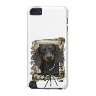 Fathers Day - Stone Paws - Dachshund - Winston iPod Touch (5th Generation) Cover