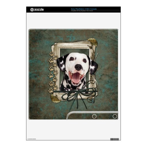 Fathers Day - Stone Paws - Dalmatian PS3 Slim Console Skins