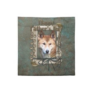 Fathers Day - Stone Paws - Dingo Cloth Napkin