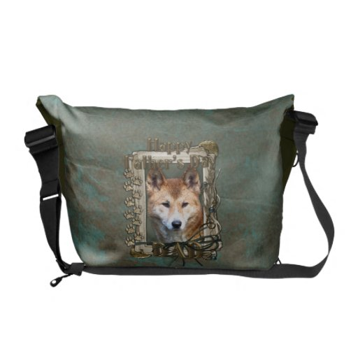Fathers Day - Stone Paws - Dingo Courier Bags