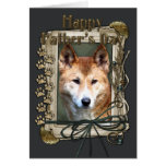 Fathers Day - Stone Paws - Dingo Greeting Card