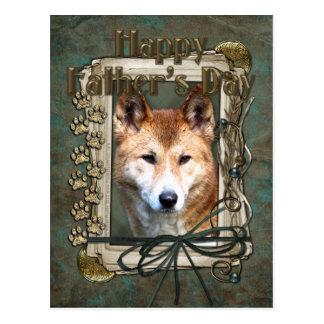 Fathers Day - Stone Paws - Dingo Postcard