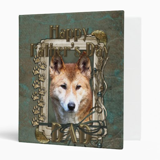 Fathers Day - Stone Paws - Dingo Vinyl Binder