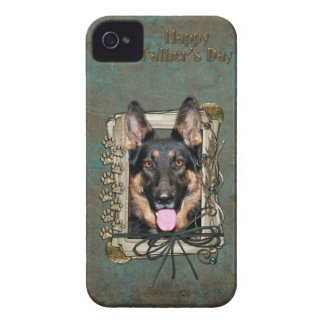 Fathers Day - Stone Paws - German Shepherd - Kuno iPhone 4 Case