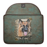 Fathers Day - Stone Paws - German Shepherd Sleeves For MacBooks