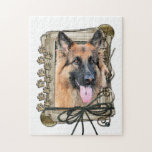 Fathers Day - Stone Paws - German Shepherd Puzzle
