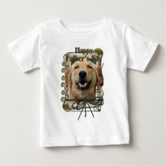 Fathers Day - Stone Paws - Golden Retriever Baby T-Shirt