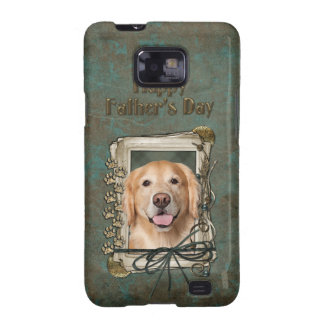 Fathers Day - Stone Paws Golden Retriever - Corona Samsung Galaxy SII Cover
