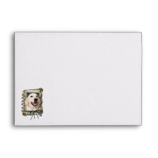 Fathers Day - Stone Paws - Golden Retriever Tebow Envelope
