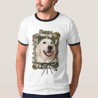 Fathers Day - Stone Paws - Golden Retriever Tebow T-Shirt