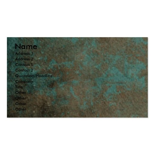 Fathers Day - Stone Paws - GoldenDoodle Double-Sided Standard Business Cards (Pack Of 100)