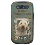 Fathers Day - Stone Paws - GoldenDoodle Galaxy SIII Cases