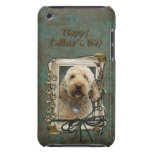 Fathers Day - Stone Paws - GoldenDoodle Barely There iPod Cases