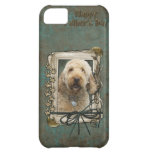 Fathers Day - Stone Paws - GoldenDoodle Cover For iPhone 5C