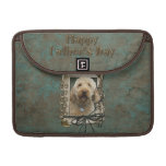 Fathers Day - Stone Paws - GoldenDoodle Sleeve For MacBook Pro