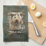 Fathers Day - Stone Paws - GoldenDoodle Towels