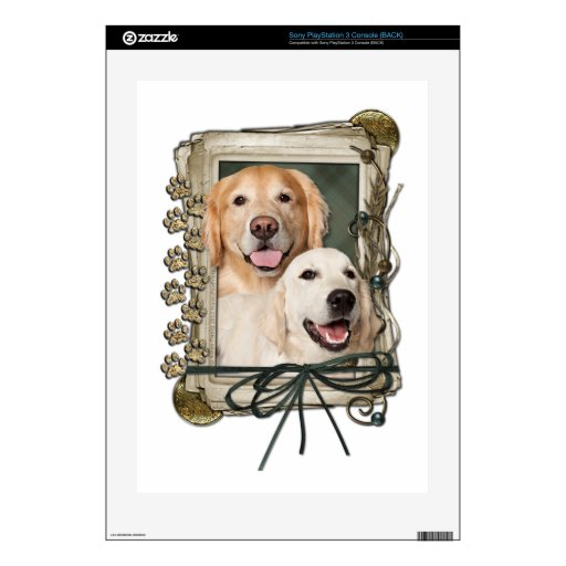 Fathers Day - Stone Paws Goldens Corona and Tebow Skins For PS3