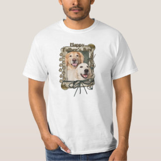 Fathers Day - Stone Paws Goldens Corona and Tebow T Shirts