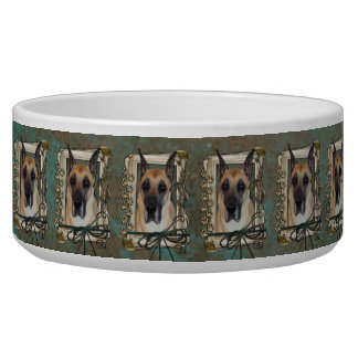 Fathers Day - Stone Paws - Great Dane Bowl