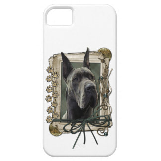 Fathers Day - Stone Paws - Great Dane - Grey iPhone SE/5/5s Case