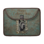 Fathers Day - Stone Paws - Great Dane - Grey MacBook Pro Sleeve