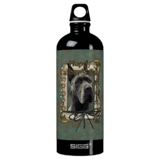 Fathers Day - Stone Paws - Great Dane - Grey SIGG Traveler 1.0L Water Bottle