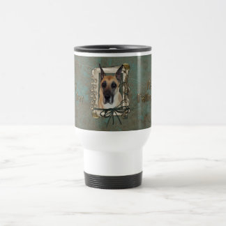 Fathers Day - Stone Paws - Great Dane Travel Mug